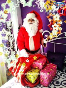 La visita de Papá Noel a domicilio en Alicante