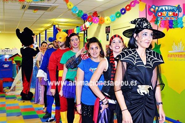 Animadores cumpleaños infantiles Alicante