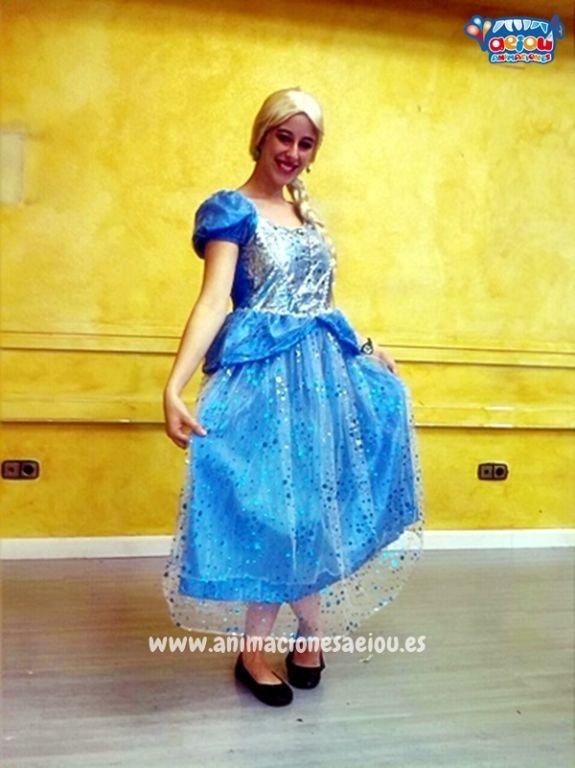 Animadores para fiestas temáticas de princesas en Alicante