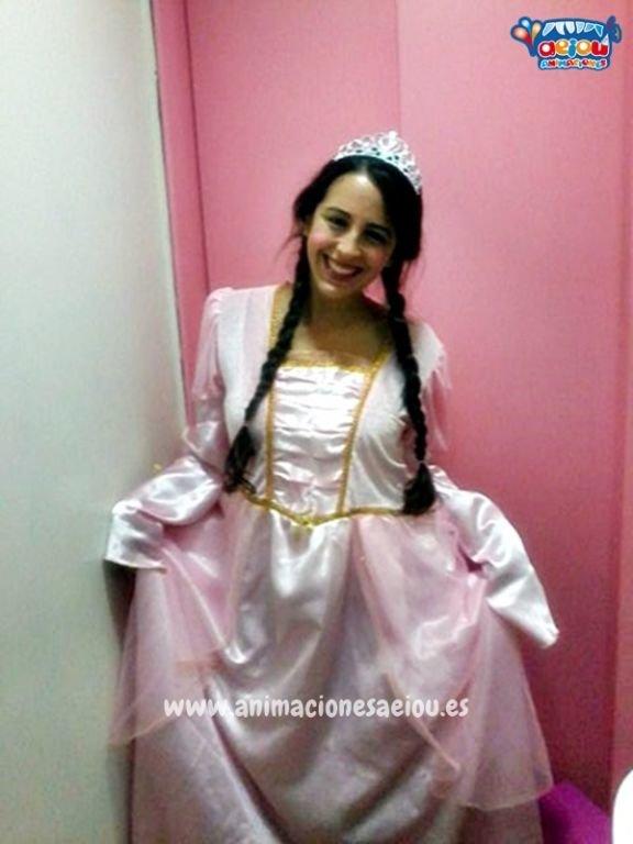 Fiestas de cumpleaños infantiles temáticas de princesas en Alicante
