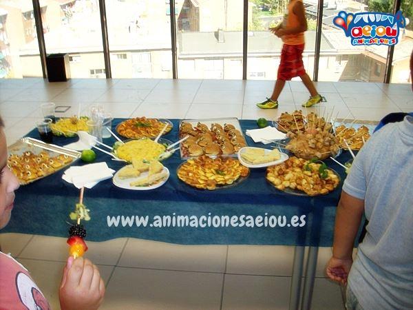 Menú para cumpleaños infantil en Alicante