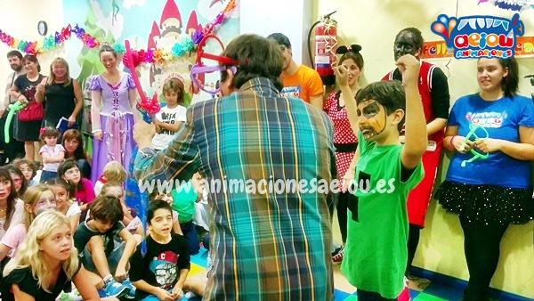 Animación para fiestas de cumpleaños Infantiles en Novelda
