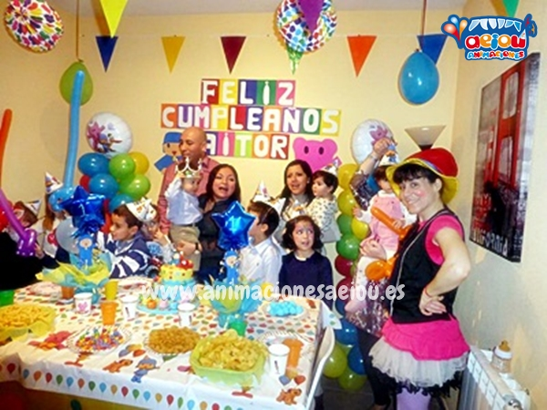 Animaciones para fiestas de cumpleaños infantiles y comuniones en Orihuela