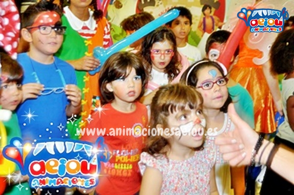 Animaciones para fiestas de cumpleaños infantiles y comuniones en San Vicente del Raspeig